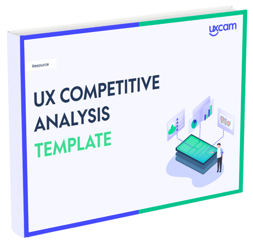 ux competitive analysis template cover no border