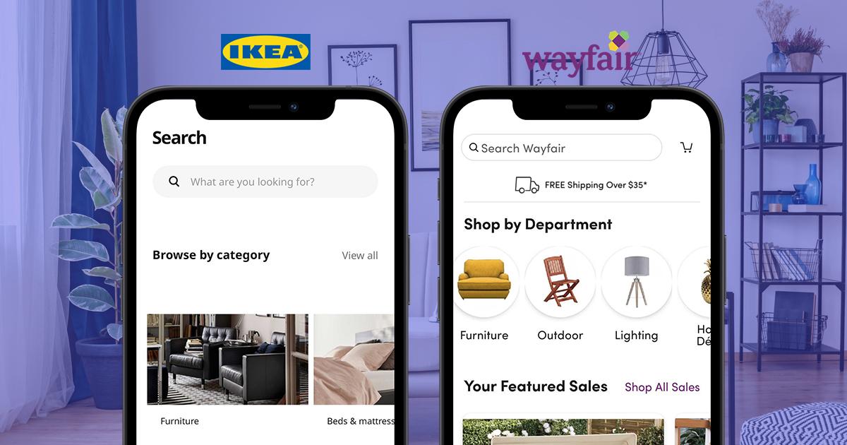 UX App Analysis IKEA Wayfair
